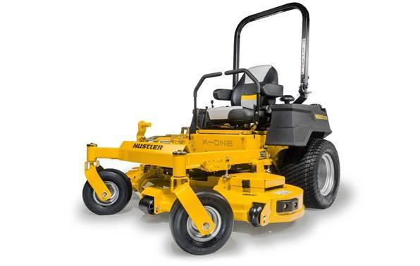 "2018 Hustler Turf Equipment X-ONE 54"" Rear Discharge Kawasaki FX730"