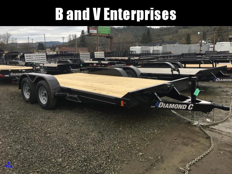 2020 Diamond C Trailers GTF235 16X83 Flatbed Car / Racing Trailer #L1222273