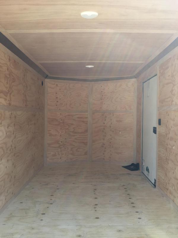 2020 Continental Cargo VHW712SA 7x12 Enclosed Cargo Trailer #LF718896