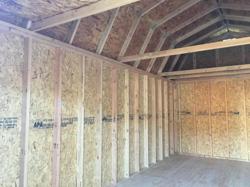 2019 Old Hickory WLBX 10x20 lofted barn shed #T4865