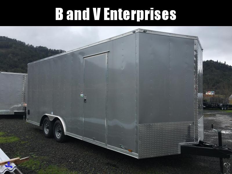 2020 Continental Cargo Car hauler VHW8520TA2 8.5 X 20 Enclosed Cargo Trailer #LF720198