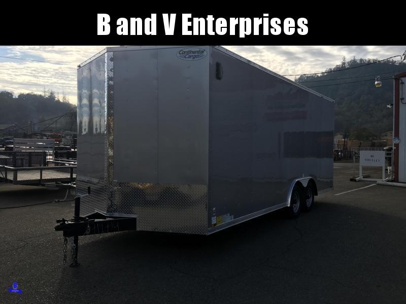 2020 Continental Cargo Car hauler VHW8520TA2 8.5 X 20 Enclosed Cargo Trailer #LF719714