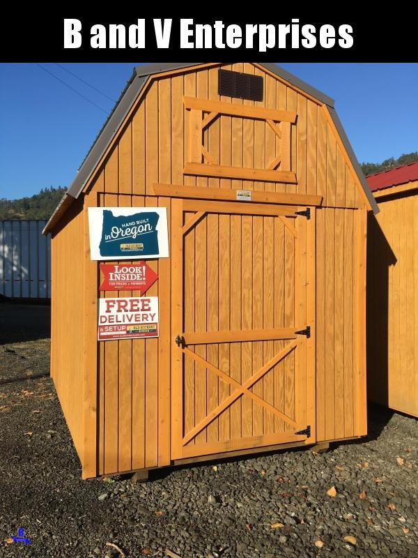 2019 Old Hickory WLBX 8 X 12 LOFTED BARN SHED