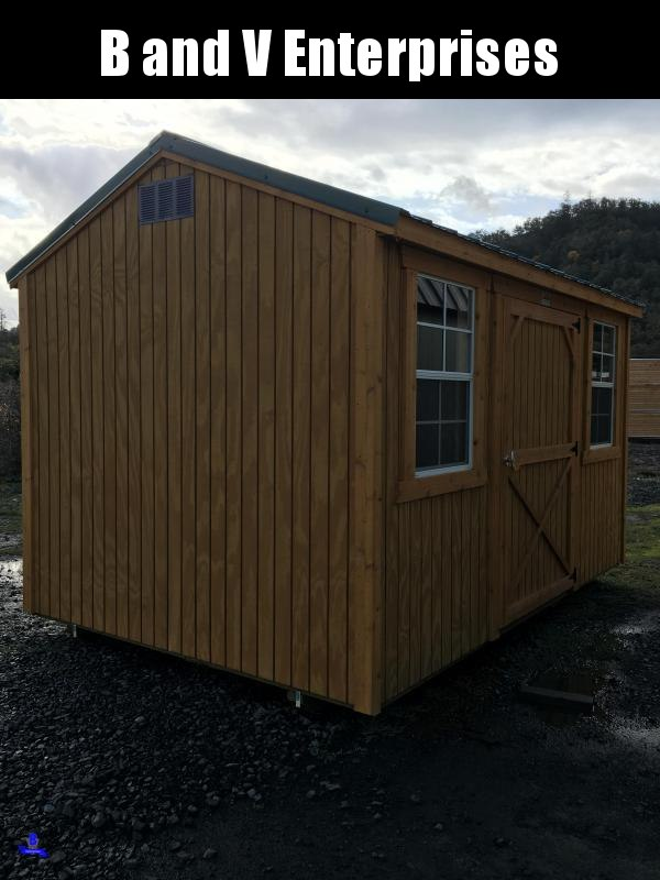 2019 Old Hickory WSUT 8 X 12 SIDE UTILITY SHED