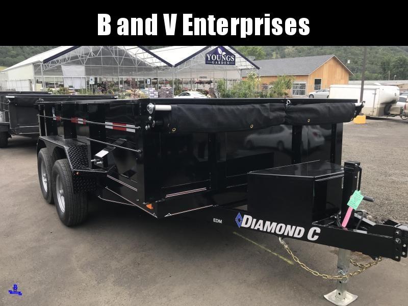 "2019 DIAMOND C EDM252 12'X82"" SCISSOR HOIST 10K DUMP K1214769"