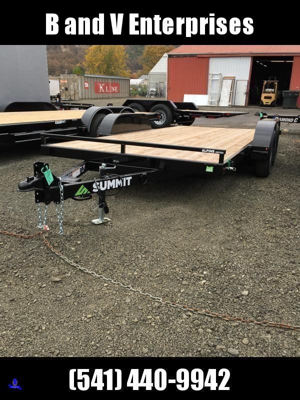 2019 Summit Alpine A716TA2 FULL TILT Equipment Car Trailer K1004398