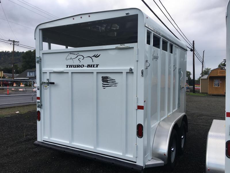 2020 Thuro-Bilt 2H Wrangler Horse Trailer LR200097