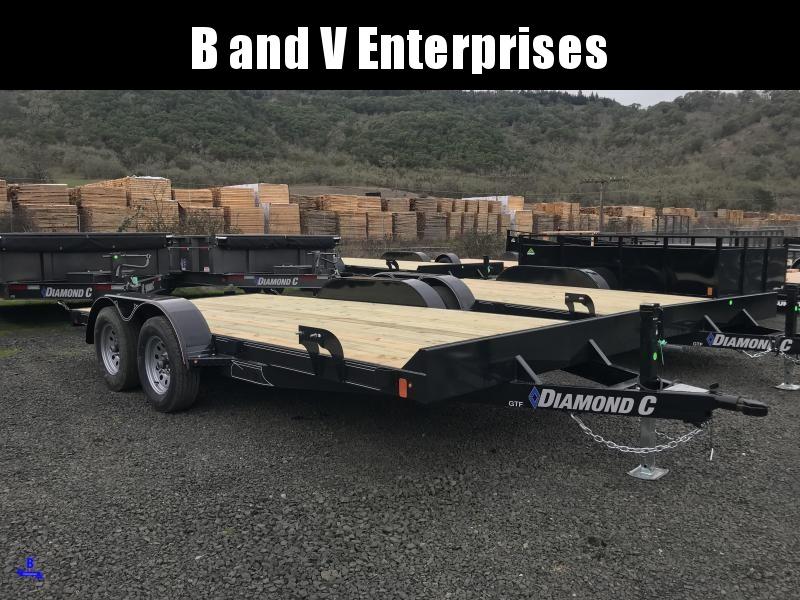 2019 Diamond C Trailers GTF235 16X83 Flatbed Car / Racing Trailer K1212245