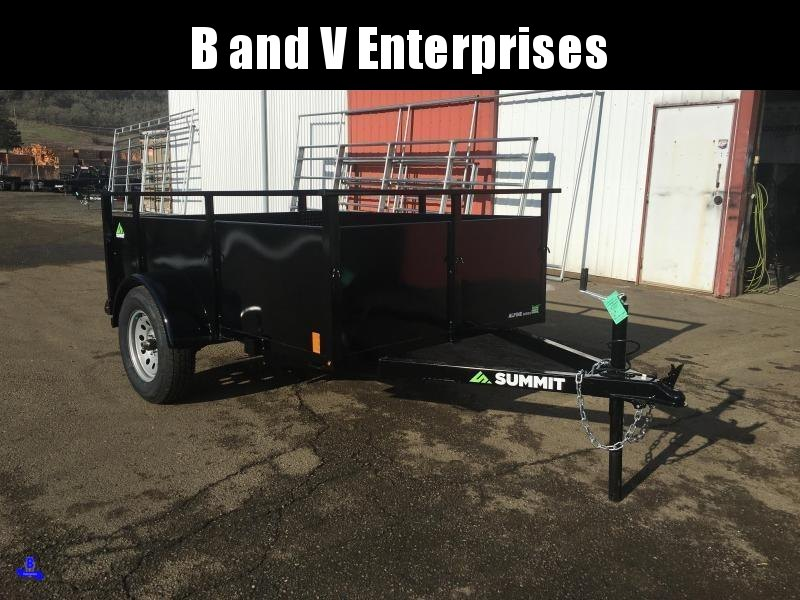 2020 Summit AU5080SA-SR ALPINE 5X8 Utility Trailer #L1005816