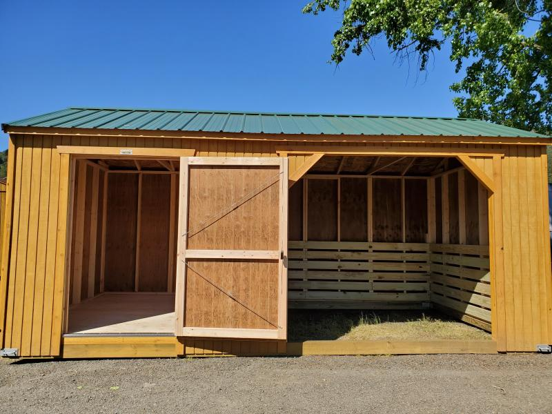 2019 Old Hickory 10X20 WAST ANIMAL SHELTER STALL SHED