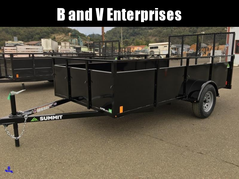2020 SUMMIT ALPINE AU612SA 6X12 BOX UTILITY TRAILER #L1005402