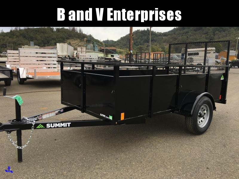 2020 Summit ALPINE 5X10SA Utility Trailer #L1005398