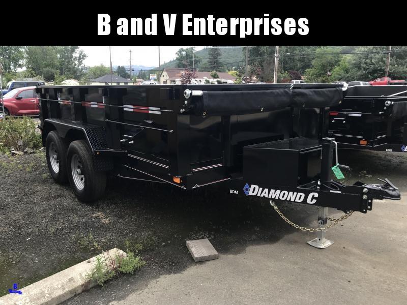 "2019 DIAMOND C EDM252 12'X77"" DUMP W/EXTRAS"