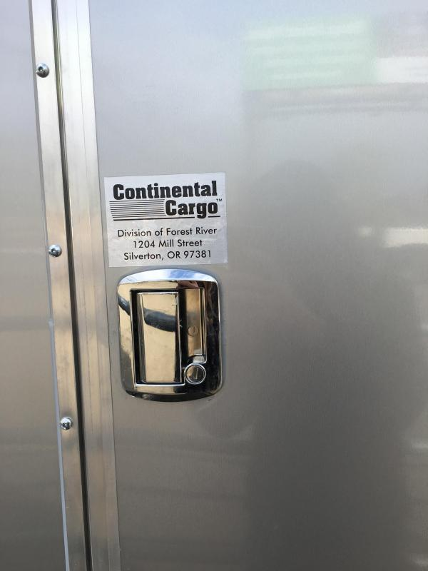 2020 Continental Cargo TW714TA2 TAILWIND 7X14 Enclosed Cargo Trailer #LF7198558