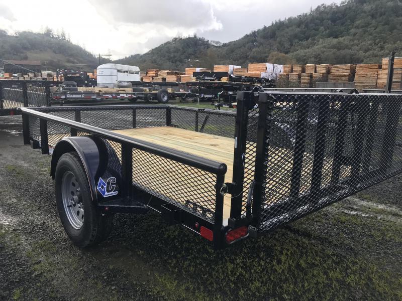 2019 Diamond C Trailers PSA 77X10 3K Utility Trailer K1210888