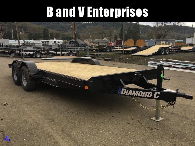 2020 Diamond C GTF252 18X82 Car Hauler Flatbed Racing Trailer #L1222626