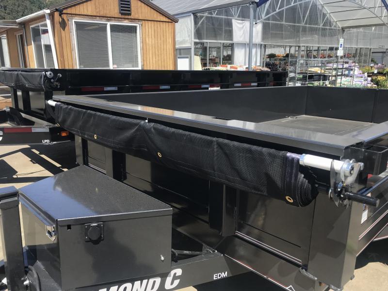 2019 Diamond C Trailers EDG235 77X10 Dump Trailer K1216057