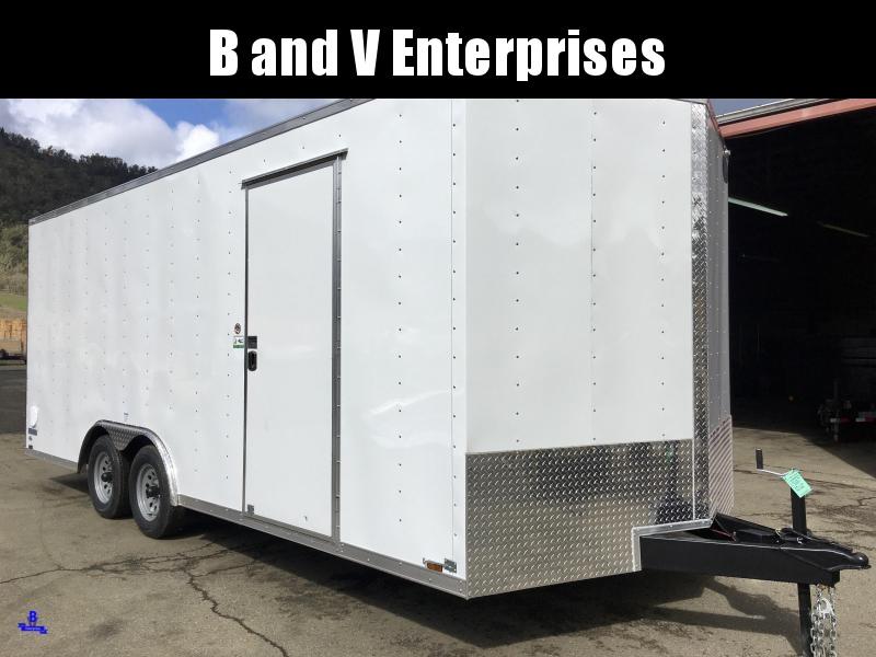 2020 Continental Cargo Car hauler VHW8520TA2 8.5 X 20 Enclosed Cargo Trailer