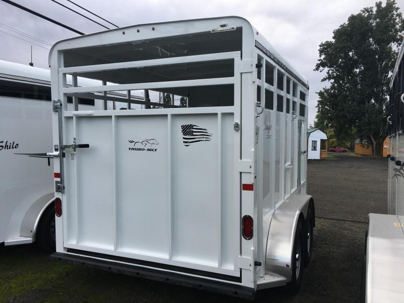 2020 Thuro-Bilt Wrangler Stock Horse Trailer LR200027