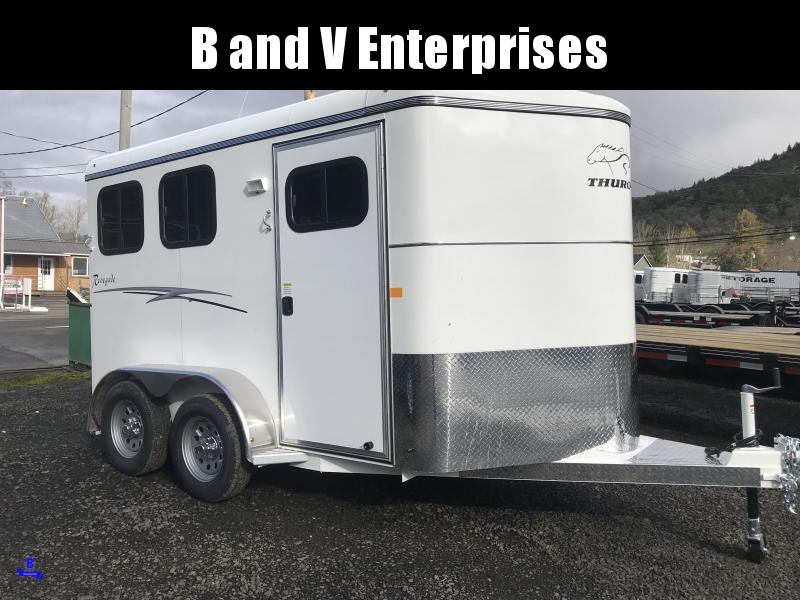 2019 Thuro-Bilt 2H Renegade Horse Trailer