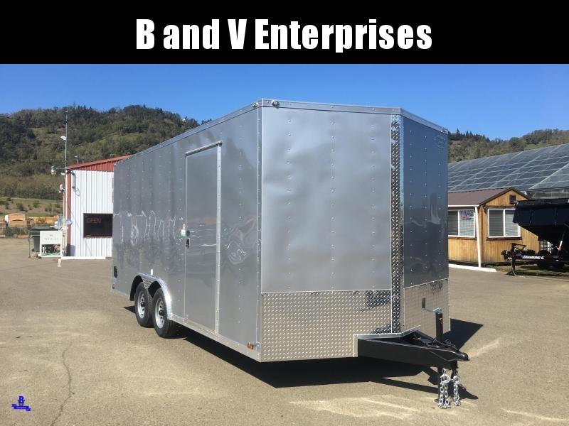 2021 Continental Cargo Car hauler VHW8518TA2 8.5 X 18 Enclosed Trailer