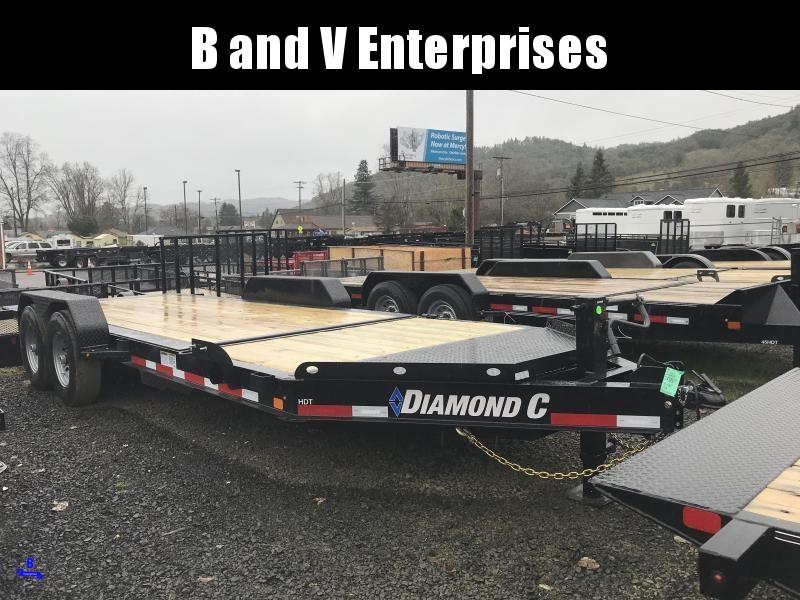 2019 DIAMOND C HDT207 82X20 SPLIT TILT EQUIPMENT TRAILER K1212175