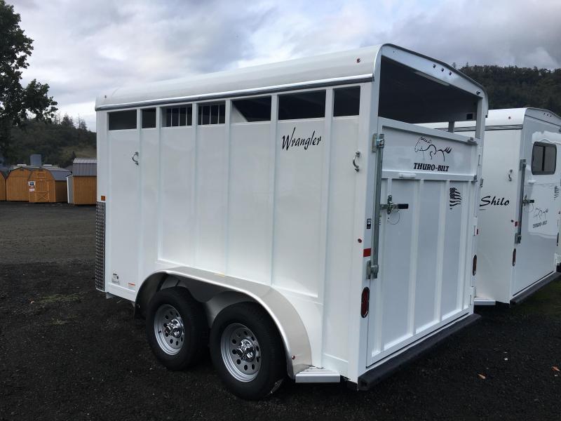 2020 Thuro-Bilt 2H Wrangler Horse Trailer LR200028