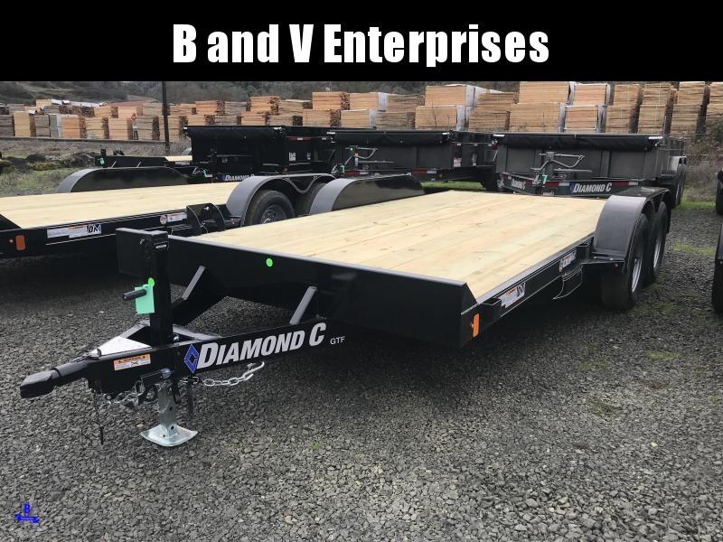 2019 Diamond C Trailers GTF235 16X83 Flatbed Car / Racing Trailer K1210733