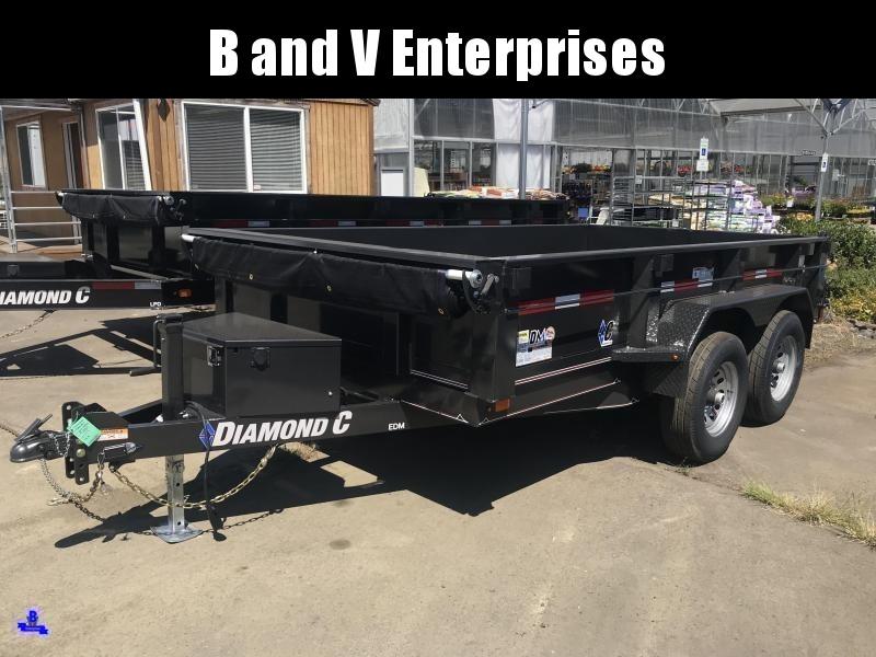 2019 Diamond C Trailers EDG235L 77X10 Dump Trailer #K1218474