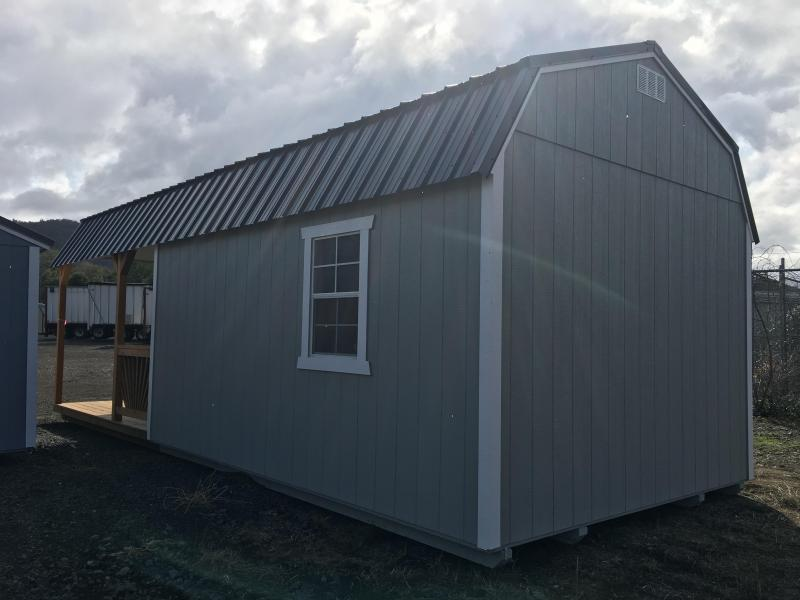 2019 Old Hickory WDLPHX 12X28 Deluxe lofted playhouse package barn shed