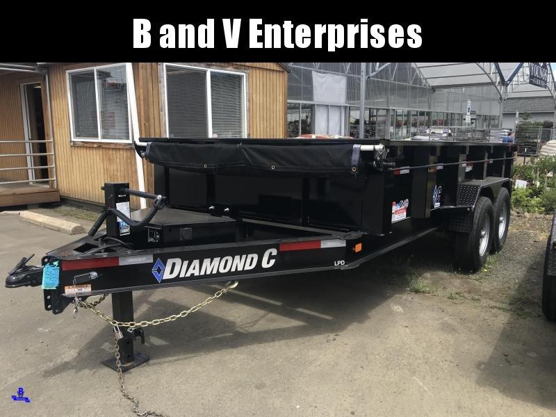 2019 Diamond C Trailers LPD207 82X14 LOW PROFILE Dump Trailer K1211164