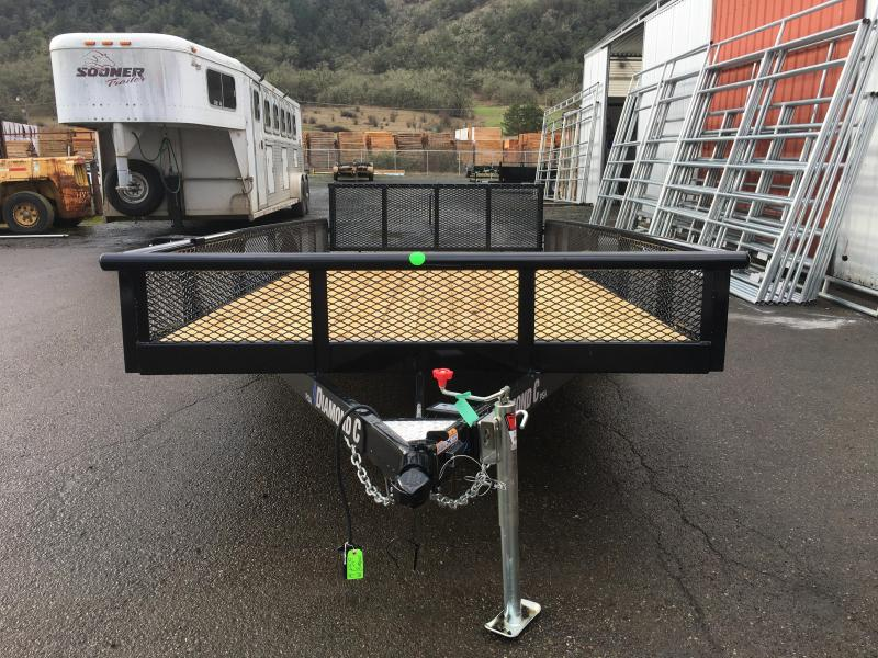 2020 Diamond C Trailers PSA152 14 X 77 5K Utility Trailer #L1222143