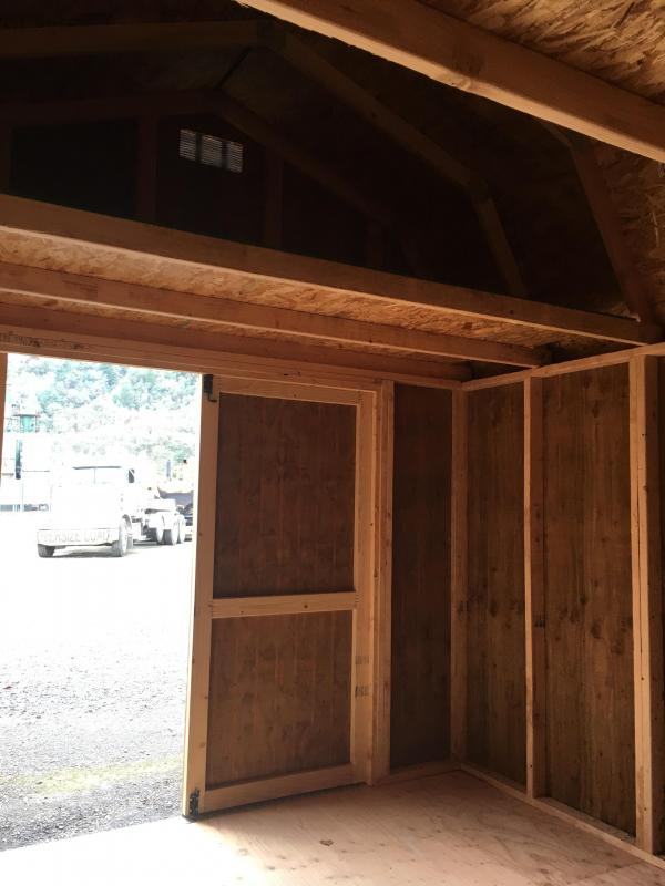 2019 Old Hickory WLBX 10X12 LOFTED BARN SHED #T4634