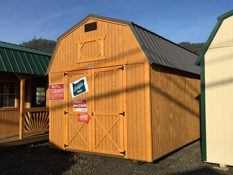 2019 Old Hickory WLBX 10x20 lofted barn shed #T4781