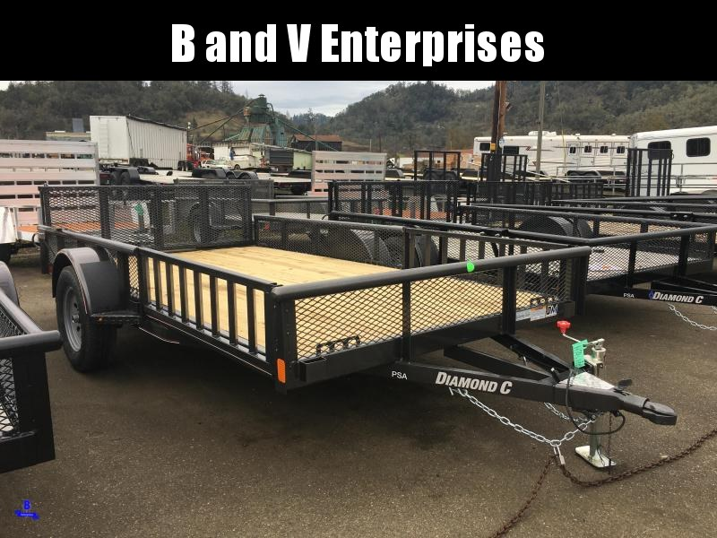 2020 Diamond C Trailers PSA135 12 X 77 3K ATV PACKAGE Utility Trailer #L1222145