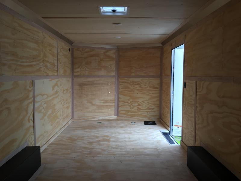 2020 Continental Cargo Car hauler VHW8520TA2 8.5 X 20 Enclosed Cargo Trailer #LF719713