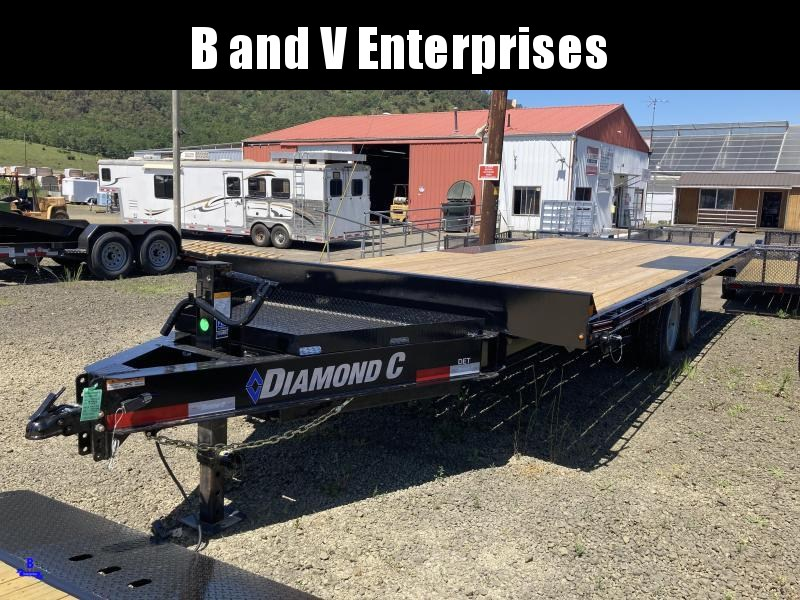 2020 Diamond C Trailers DET207 22X102 Equipment Trailer