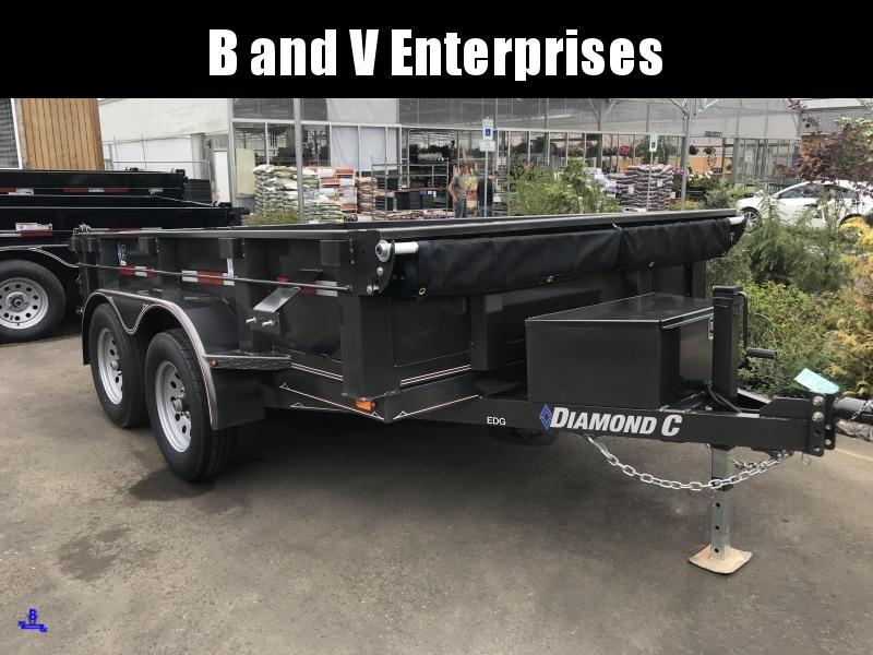 2019 Diamond C Trailers EDG235 77X10 Dump Trailer #K1214827