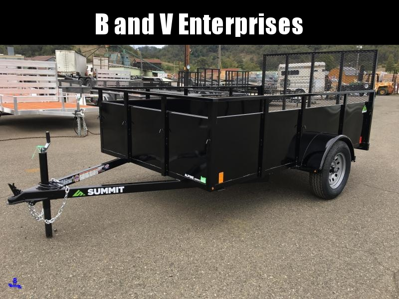 2020 SUMMIT ALPINE AU610SA 6X10 BOX UTILITY TRAILER #L1005399