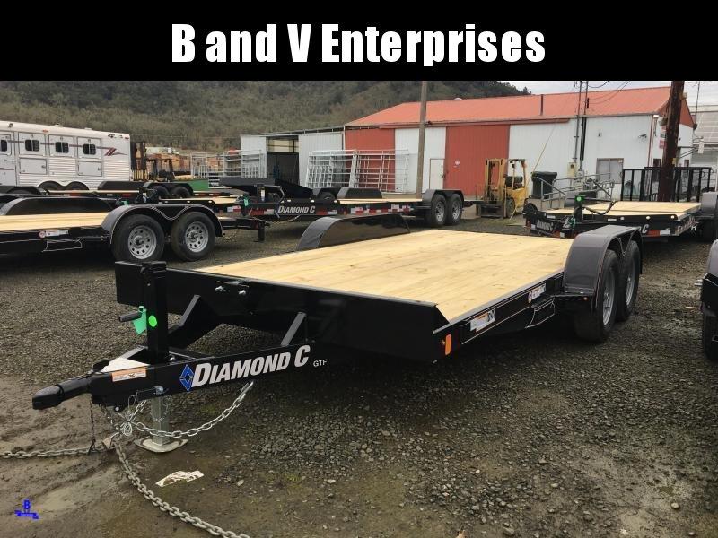 2020 Diamond C Trailers GTF235 16X83 Flatbed Car / Racing Trailer