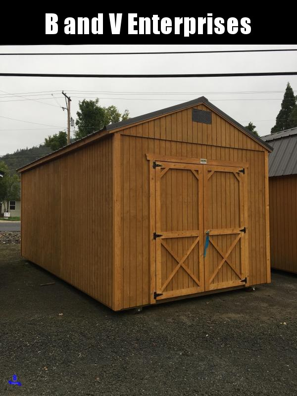 2019 Old Hickory WUTX 10 X 20 UTILITY SHED 8' WALLS