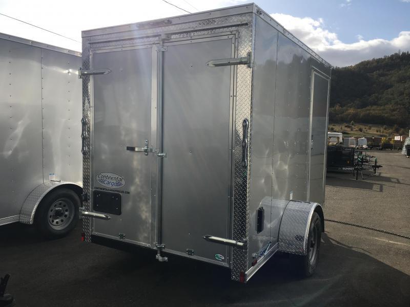 2020 Continental Cargo VHW610SA 6X10 Enclosed Cargo Trailer #LF719554
