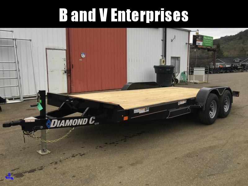 2020 Diamond C GTF252 18X82 Car Hauler Flatbed Racing Trailer #L1222627