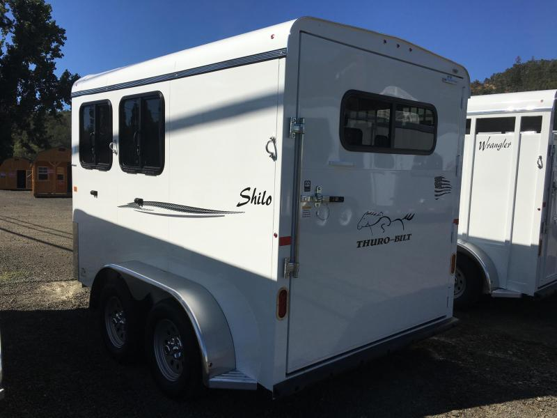 2020 Thuro-Bilt SHILO 2-HR Horse Trailer
