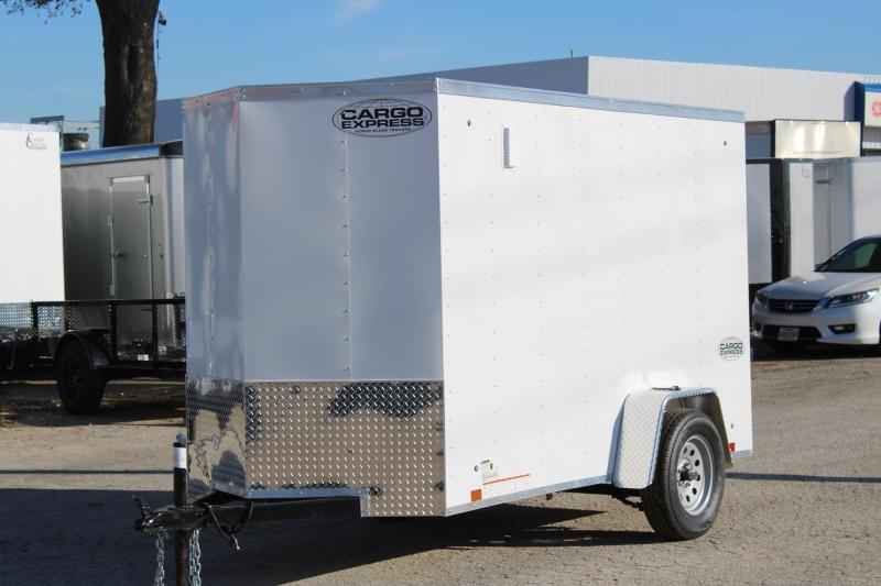 2020 Cargo Express 5X10 Enclosed Cargo Trailer W/ Barn Doors