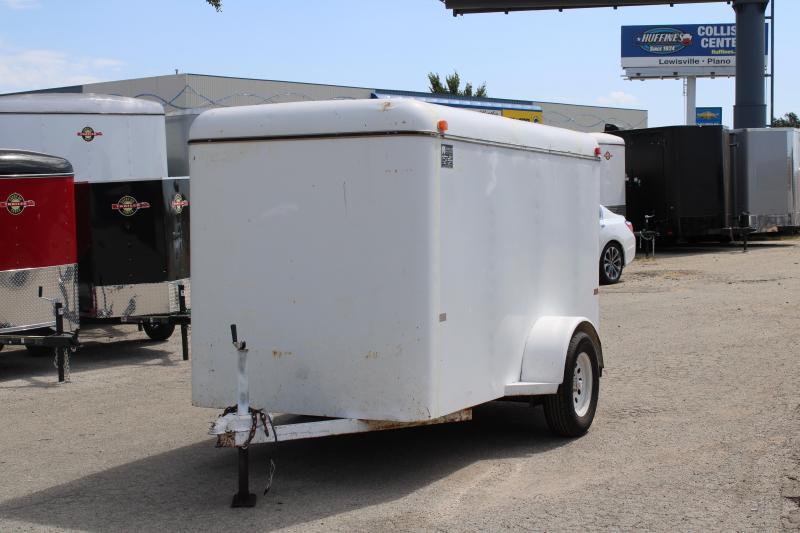 1997 W-W Trailer 5X10 Enclosed Cargo Trailer