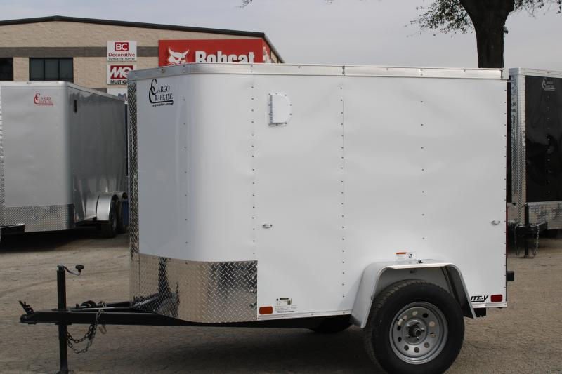 2020 Cargo Craft EV-581 Enclosed Cargo Trailer