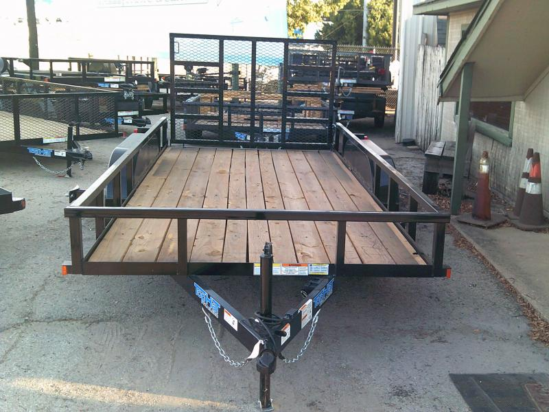 2019 Top Hat Trailers 6.5X14 Utility Trailer