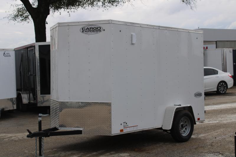 2021 Cargo Express CSCBA6.0X10SI2FE Enclosed Cargo Trailer