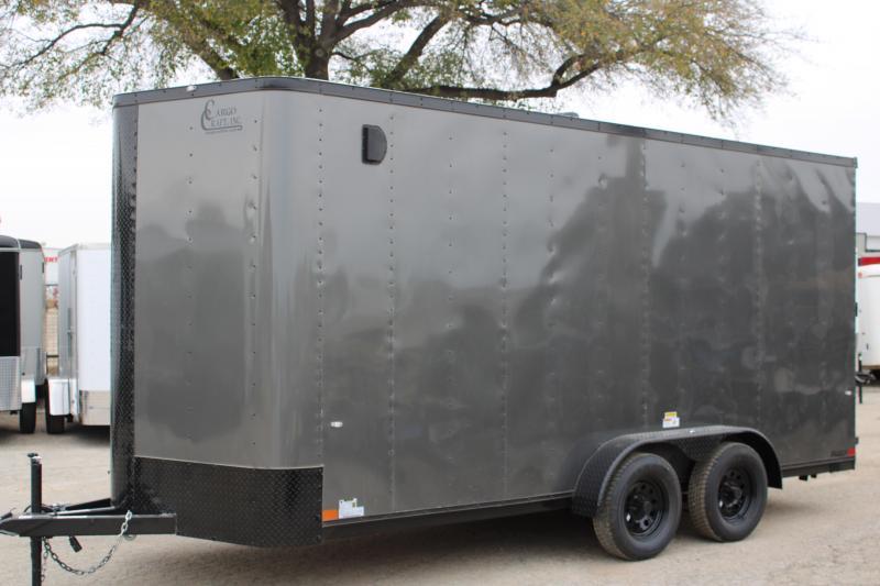 2020 Cargo Craft EV7182 Enclosed Cargo Trailer